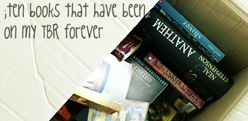 ten books that have been on my tbr forever