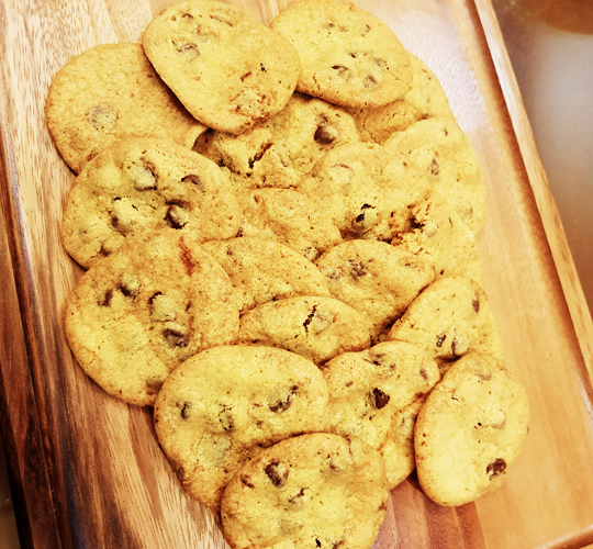 crunchy chocolate chip cookies2