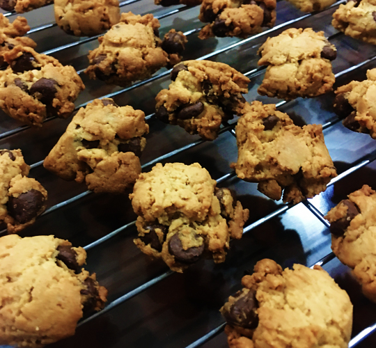 crunchy chocolate chip cookies3