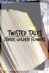 three golden flowers pin